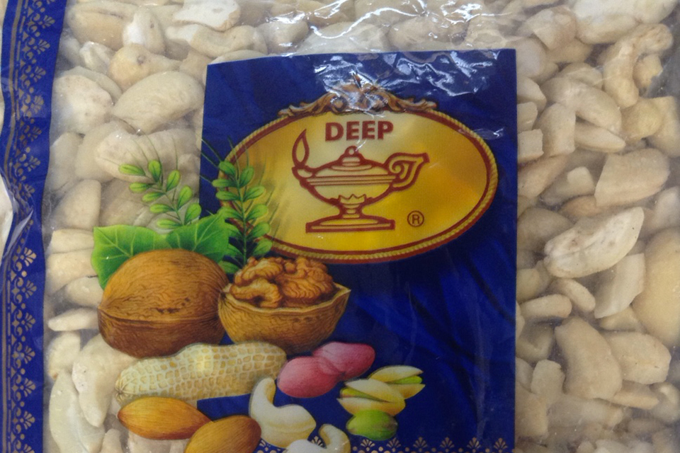 Recall Of Deep Raw Cashew Pieces